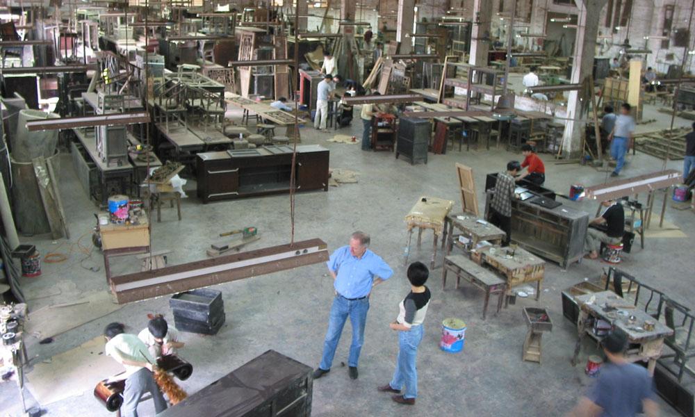 restaureren van Aziatische antieke meubels 03